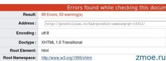 Как проверить валидацию html кода