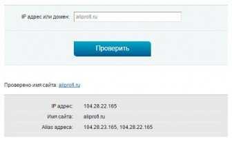 Как узнать ip адрес сайта?